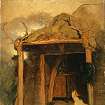 Sir Edwin Landseer, English, 1802-1873 -- Duchess of Bedford's Hut, Glenfeshie, Philadelphia Museum of Art