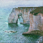 Philadelphia Museum of Art - Claude Monet, French, 1840-1926 -- Manne-Porte, Étretat