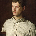 Thomas Eakins, American, 1844-1916 -- Portrait of Douglass Morgan Hall, Philadelphia Museum of Art