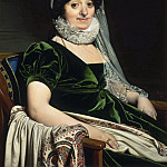 Portrait of the Countess of Tournon, Jean Auguste Dominique Ingres