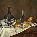 Still Life with a Dessert, Paul Cezanne