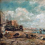 John Constable, English, 1776-1837 -- The Marine Parade and Chain Pier, Brighton , Philadelphia Museum of Art