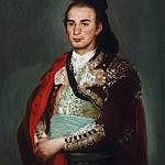 Francisco José de Goya y Lucientes, Spanish, 1746-1828 -- Portrait of the Toreador José Romero, Philadelphia Museum of Art