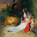 Sir Edwin Landseer, English, 1802-1873 -- The Bride of Lammermoor, Philadelphia Museum of Art