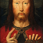 Gerard David, Netherlandish , first documented 1484, died 1523 -- Salvator Mundi, Philadelphia Museum of Art