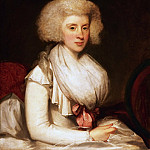 Philadelphia Museum of Art - Gilbert Charles Stuart, American, 1755-1828 -- Portrait of Mrs. Christopher Bertson