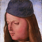 Luca Signorelli, Italian , first documented 1470, died 1523 -- Head of a Boy, Philadelphia Museum of Art