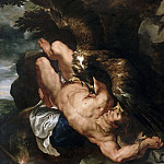 Peter Paul Rubens, Flemish , 1577-1640 -- Prometheus, Philadelphia Museum of Art