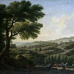 Philadelphia Museum of Art - Claude-Joseph Vernet, French, 1714-1789 -- Villa at Caprarola