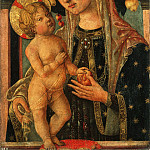 Francesco di Gentile da Fabriano, Italian , documented 1497 -- Virgin and Child with a Pomegranate, Philadelphia Museum of Art
