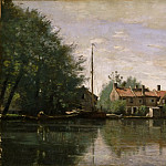 View in Holland, Jean-Baptiste-Camille Corot