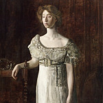 Philadelphia Museum of Art - Thomas Eakins, American, 1844-1916 -- The Old-Fashioned Dress (Portrait of Helen Montanverde Parker)