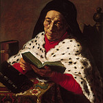 Philadelphia Museum of Art - Attributed to Jan Lievens, Dutch (active Leiden and Amsterdam), 1607-1674 -- Old Woman Reading