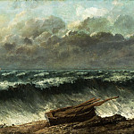 Gustave Courbet, French, 1819-1877 -- Waves, Philadelphia Museum of Art