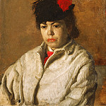 Portrait of Margaret Eakins in a Skating Costume, Thomas Eakins