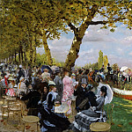 Giuseppe De Nittis, Italian, 1846-1884 -- Return from the Races, Philadelphia Museum of Art