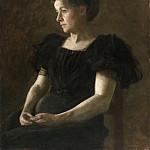 Philadelphia Museum of Art - Thomas Eakins, American, 1844-1916 -- Portrait of Mrs. Frank Hamilton Cushing