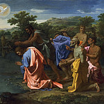 Nicolas Poussin, French, 1594-1665 -- The Baptism of Christ, Philadelphia Museum of Art