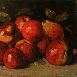 Philadelphia Museum of Art - Gustave Courbet, French, 1819-1877 -- Still Life with Apples and a Pear