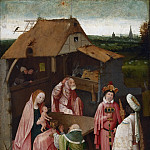 Hieronymus Bosch, Netherlandish , c. 1450-1516 -- The Adoration of the Magi, Philadelphia Museum of Art