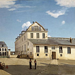 Jean-Baptiste-Camille Corot, French, 1796-1875 -- House and Factory of Monsieur Henry, Philadelphia Museum of Art