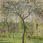 Philadelphia Museum of Art - Camille Pissarro, French, 1830-1903 -- Landscape (Orchard)