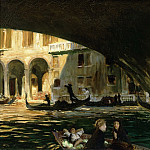 Philadelphia Museum of Art - John Singer Sargent, American (active London, Florence, and Paris), 1856-1925 -- The Rialto, Venice