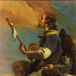 Giovanni Battista Tiepolo, Italian 1696-1770 -- Saint Roch, Philadelphia Museum of Art