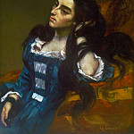 Philadelphia Museum of Art - Gustave Courbet, French, 1819-1877 -- Spanish Woman