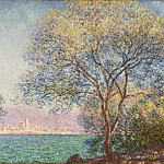 Morning at Antibes, Claude Oscar Monet