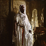 Eduard Charlemont, Austrian, 1848-1906 -- The Moorish Chief, Philadelphia Museum of Art
