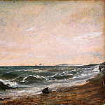 Philadelphia Museum of Art - John Constable, English, 1776-1837 -- Coast Scene, Brighton