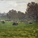 Philadelphia Museum of Art - Claude Monet, French, 1840-1926 -- Green Park, London