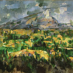 Paul Cézanne, French, 1839-1906 -- Mont Sainte-Victoire, Philadelphia Museum of Art