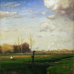 Philadelphia Museum of Art - George Inness, American, 1825-1894 -- Short Cut, Watchung Station, New Jersey