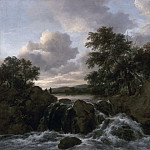 Landscape with a Waterfall, Jacob Van Ruisdael