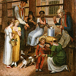 John Lewis Krimmel , American , 1786-1821 -- Pepper-Pot: A Scene in the Philadelphia Market, Philadelphia Museum of Art