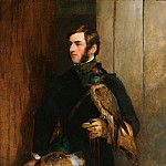 Sir Edwin Landseer, English, 1802-1873 -- The Falconer [possibly a portrait of William Russell], Philadelphia Museum of Art