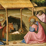 Paolo Schiavo , Italian , 1397-1478 -- The Nativity, Philadelphia Museum of Art