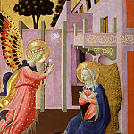 Zanobi Strozzi , Italian , 1412-1468 -- Annunciation, Philadelphia Museum of Art