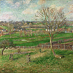 The Field and the Great Walnut Tree, Eragny, Camille Pissarro