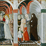 Giovanni di Pietro, also called Nanni di Pietro, Italian , first documented 1432, died before 1479 -- The Marriage of the Virgin, Philadelphia Museum of Art