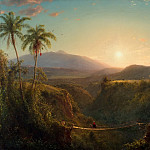 Frederic Edwin Church, American, 1826-1900 -- Pichincha, Philadelphia Museum of Art