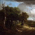 Philadelphia Museum of Art - Thomas Gainsborough, English, 1727-1788 -- Rest by the Way