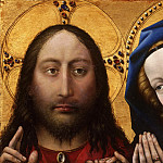 Philadelphia Museum of Art - Robert Campin, also called the Master of Flémalle, Netherlandish (active Tournai), first documented 1406, died 1444 -- Christ and the Virgin