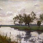 Philadelphia Museum of Art - Alfred Parsons, English, 1847-1920 -- River and Towpath