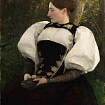 Philadelphia Museum of Art - Pascal-Adolphe-Jean Dagnan-Bouveret, French, 1852-1929 -- A Woman from Bern, Switzerland