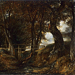 John Constable, English, 1776-1837 -- Dell at Helmingham Park, Philadelphia Museum of Art