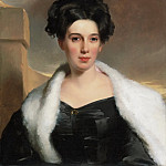 Thomas Sully, American , 1783-1872 -- Portrait of Mary Anne Heide Norris, Philadelphia Museum of Art