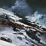 Winslow Homer, American, 1836-1910 -- Winter Coast, Philadelphia Museum of Art
